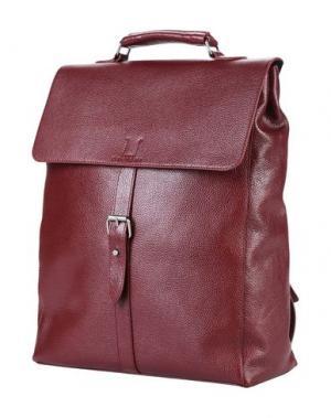 Рюкзаки и сумки на пояс ORCIANI. Цвет: красно-коричневый
