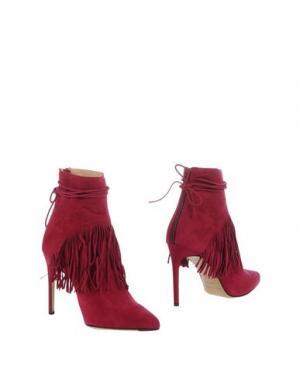 Полусапоги и высокие ботинки BIONDA CASTANA. Цвет: пурпурный