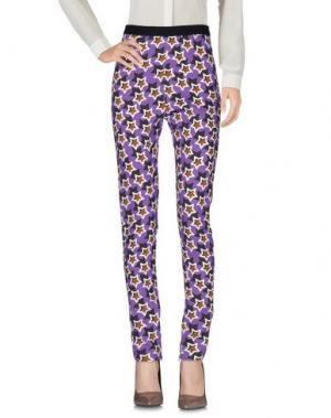 Повседневные брюки EMANUEL UNGARO. Цвет: фиолетовый