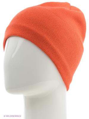 Шапка BUFF KNITTED HATS SOLID ORANGE. Цвет: оранжевый