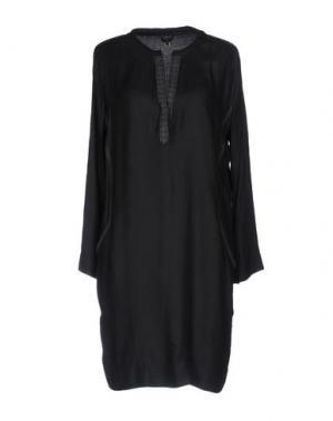 Короткое платье SWILDENS. Цвет: темно-синий