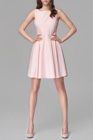 Платье MISEBLA. Цвет: розовый
