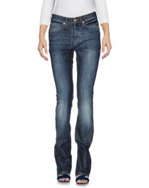 Джинсовые брюки GAI MATTIOLO. Цвет: синий