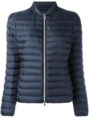 Дутая куртка Peuterey. Цвет: синий