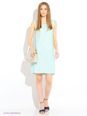 Сарафан Baon. Цвет: голубой