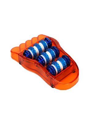 Массажер для ступней ног SilaPro. Цвет: оранжевый