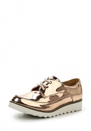 Ботинки Mariamare. Цвет: золотой