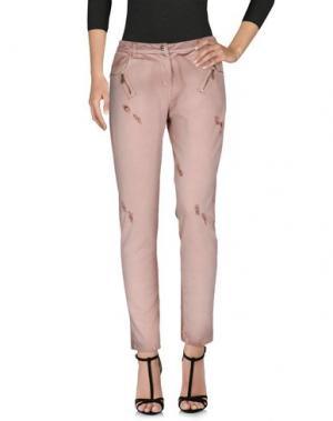 Джинсовые брюки TOY G.. Цвет: пастельно-розовый