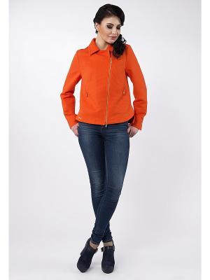 Жакет D`imma. Цвет: оранжевый
