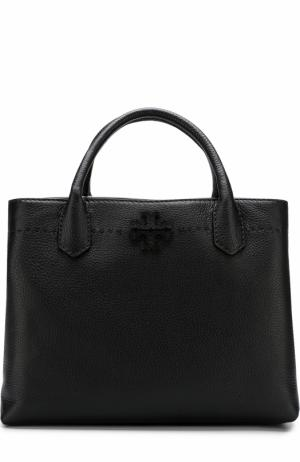 Сумка McGraw Tory Burch. Цвет: черный