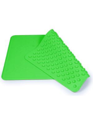 Коврик для ванны нескользящий - 34x55см, цвет: зеленый Canpol babies. Цвет: зеленый