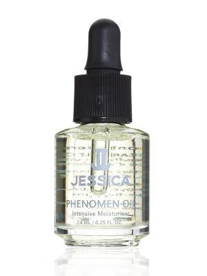 Интенсивное увлажняющее средство с миндальном маслом Phenomen Oil, 7,4 мл JESSICA. Цвет: светло-желтый