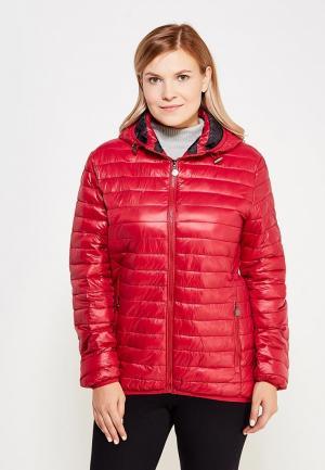 Куртка утепленная Z-Design. Цвет: бордовый