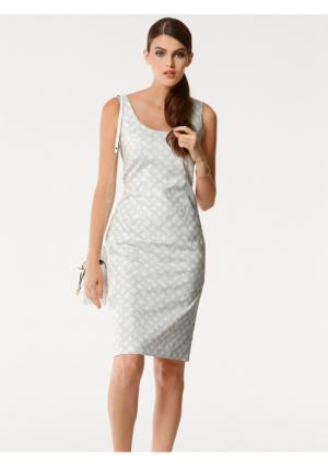 Платье PATRIZIA DINI by Heine. Цвет: белый/серебристо-серый