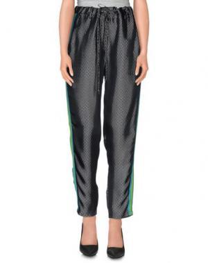 Повседневные брюки TERESA DAINELLI. Цвет: черный