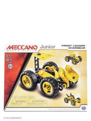 Игрушка Meccano Фронтальный погрузчик (3 модели) SPIN MASTER. Цвет: желтый