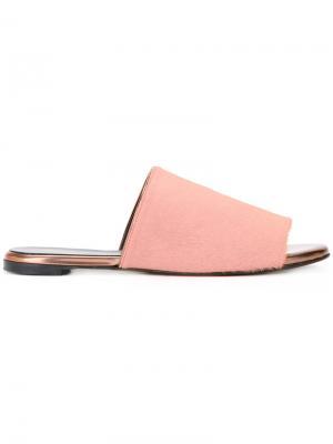 Сандалии-слипон Robert Clergerie. Цвет: розовый и фиолетовый