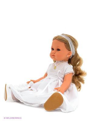 Кукла Белла. Первое причастие блондинка Antonio Juan. Цвет: белый