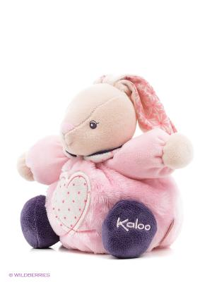 Заяц маленький - Сердце, коллекция Розочка Kaloo. Цвет: розовый