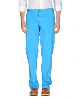 Повседневные брюки MORRIS. Цвет: лазурный