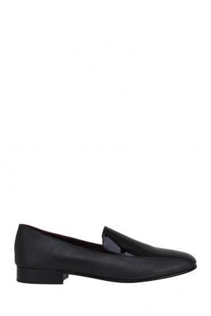 Кожаные ботинки Newbark. Цвет: черный