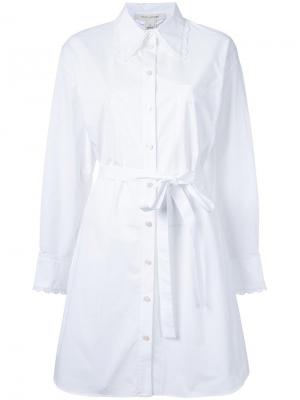 Платье-рубашка свободного кроя Marc Jacobs. Цвет: белый