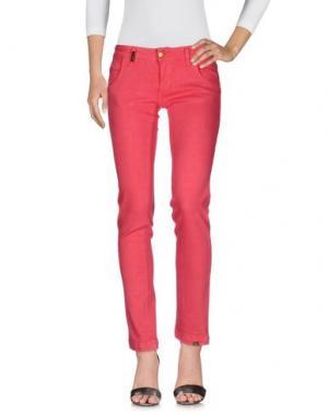 Джинсовые брюки YES LONDON. Цвет: красный