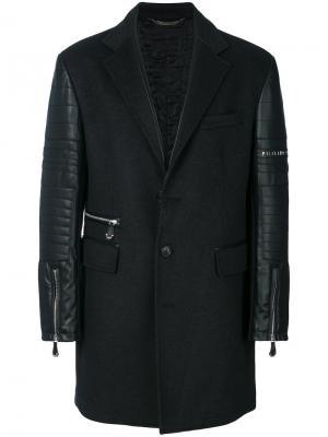 Пальто Break Philipp Plein. Цвет: чёрный