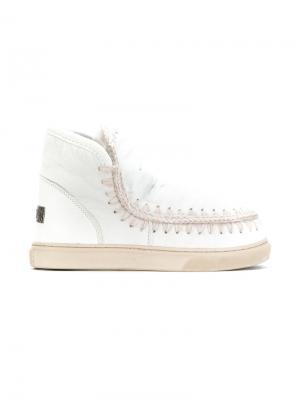 Ботинки Eskimo Mou. Цвет: белый