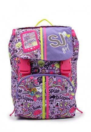 Рюкзак SJ Gang. Цвет: фиолетовый