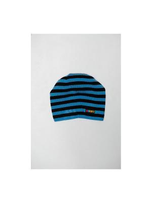Шапка Tricotier. Цвет: синий, черный