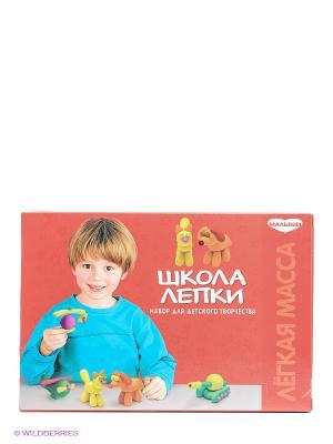 Набор для детского творчества. Школа лепки. GENIO KIDS. Цвет: красный