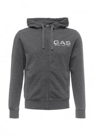 Толстовка Gas. Цвет: серый