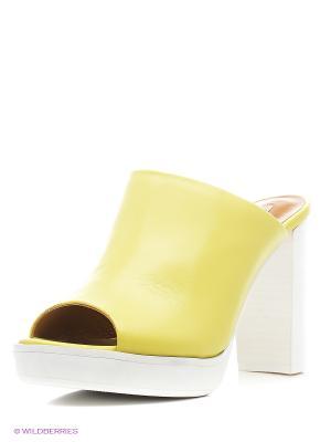 Сабо El Tempo. Цвет: желтый