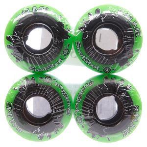 Колеса для скейтборда  Snotshots Park Plus 99A 50 mm Abec 11. Цвет: зеленый