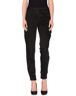 Повседневные брюки QCQC. Цвет: темно-коричневый