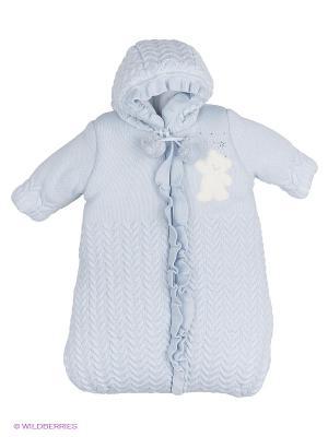 Конверт для малышей Linas Baby. Цвет: голубой