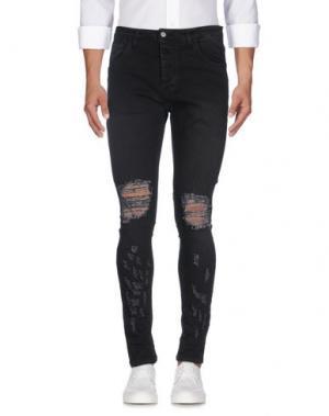 Джинсовые брюки IMB I'M BRIAN. Цвет: черный