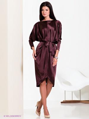 Платье Elena Shumilo. Цвет: бордовый