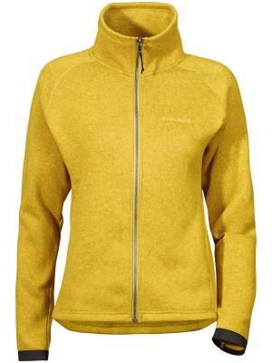 Куртка CLEO DIDRIKSONS. Цвет: желтый