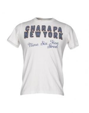 Футболка CHARAPA. Цвет: слоновая кость