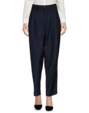 Повседневные брюки I AM. Цвет: темно-синий