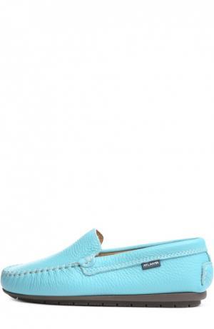 Мокасины Atlanta Mocassin. Цвет: голубой