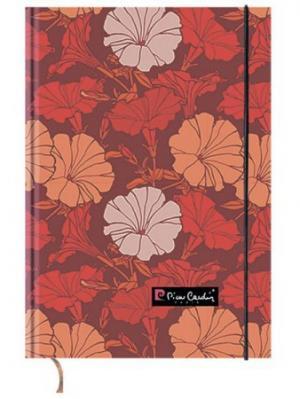 Еженедельник недатированный 7БЦ А5 100 листво Pierre Cardin Flora. Цвет: красный