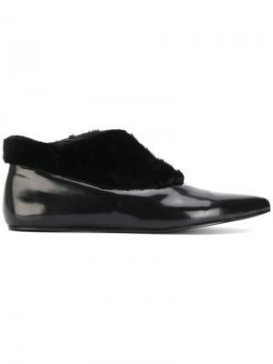 Ботинки с заостренным носком Paloma Barceló. Цвет: чёрный