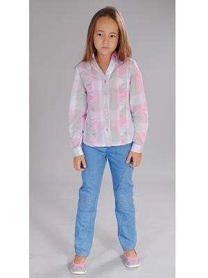 Блузка Милашка Сьюзи. Цвет: розовый