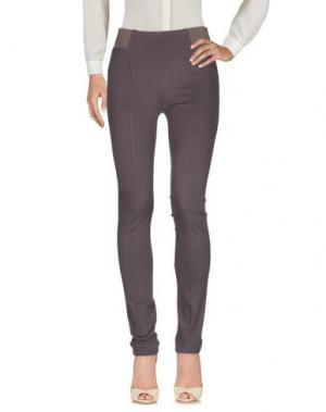 Повседневные брюки CAPPELLINI by PESERICO. Цвет: свинцово-серый