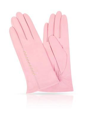 Перчатки Michel Katana. Цвет: розовый