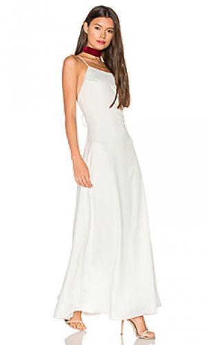 Платье elm Privacy Please. Цвет: ivory