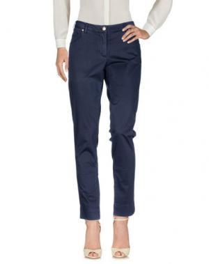 Повседневные брюки VERYSIMPLE. Цвет: темно-синий